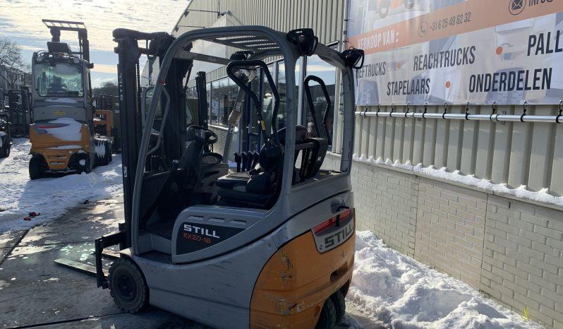 STILL RX20-16 Triplex Freelift Inclusief Acculader full