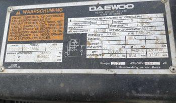Daewoo d25s-3 full